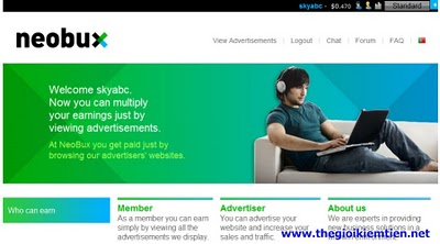 3 Hướng dẫn kiếm tiền trên mạng với Neobux chi tiết A Z