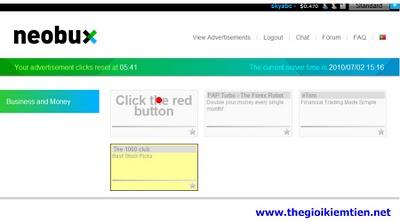 4 Hướng dẫn kiếm tiền trên mạng với Neobux chi tiết A Z