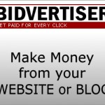 Kiếm tiền với Bidvertiser