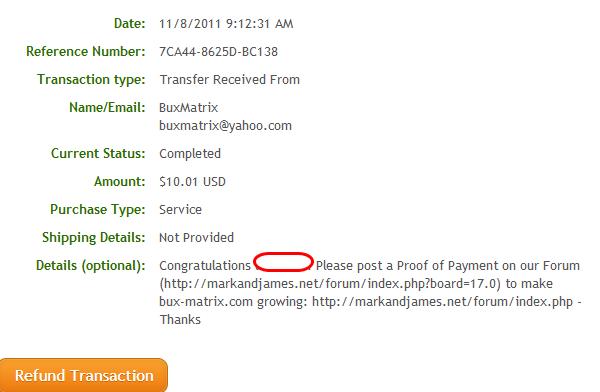 bux matrix Kiếm tiền PTC PTR với bux matrix   legit site