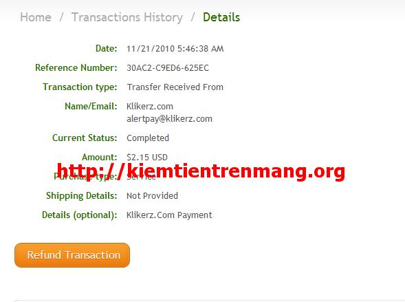 proof Klikerz.com chưa scam? Proof klikerz và buxify