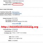 Proof 11/12/2010 từ Leemails, tiếp tục kiếm tiền!