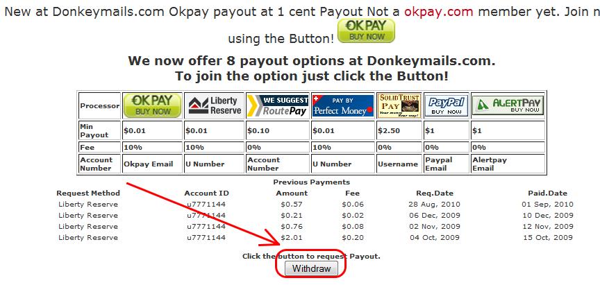 14 Sử dụng auto click kiếm tiền với donkeymails