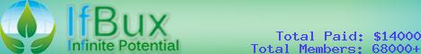 ifbux banner Tổng hợp các website kiếm tiền paid to click tốt nhất