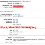 Ifbux tiếp tục thanh toán, proof ngày 03/01/2011
