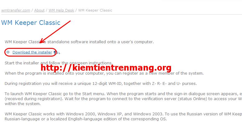 1 Khôi phục tài khoản webmoney classic khi có file key
