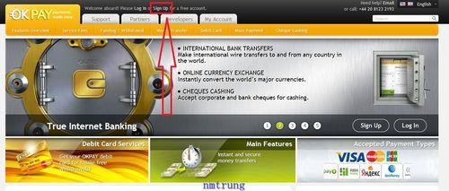 1 OKPAY – Phương thức thanh toán mới và bonus free mỗi ngày