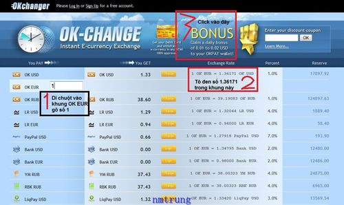 3 OKPAY – Phương thức thanh toán mới và bonus free mỗi ngày