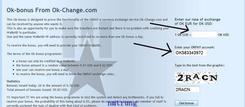 4 OKPAY – Phương thức thanh toán mới và bonus free mỗi ngày