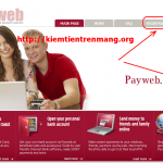 Payweb – thanh toán mới và 0.5$ bonus mỗi ngày (cập nhật proof)