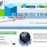 Hướng dẫn kiếm tiền với Logiptc - legit site