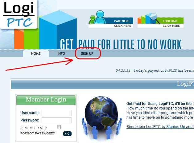 logiptc3 Hướng dẫn kiếm tiền với Logiptc   legit site