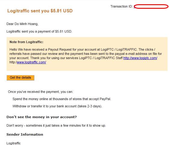 proof logiptc2 Hướng dẫn kiếm tiền với Logiptc   legit site