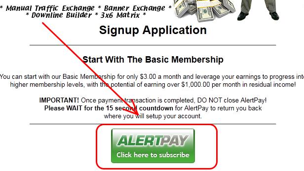 2 [scam] 3x6surf   Kiếm tiền bằng cách xây dựng downline