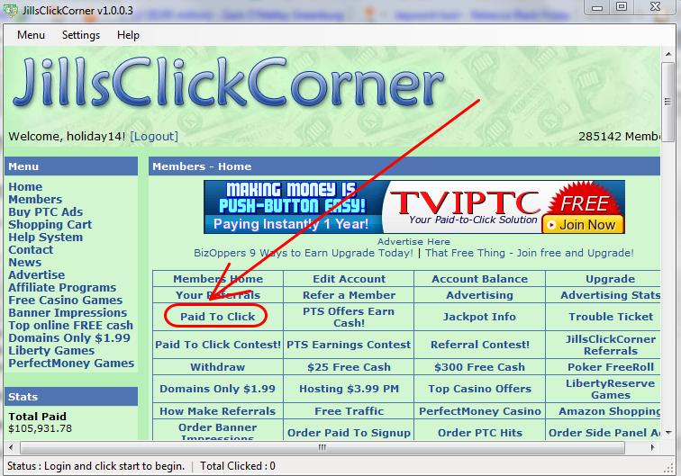 Kiếm tiền trên mạng với Jillsclickcorner