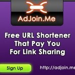 AdJoin.Me - site rút gọn link mới