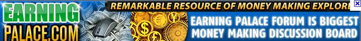 earningpalace banner [Paid to post] Kiếm tiền bằng cách post bài