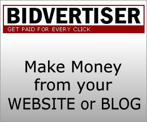 Bidvertiser sẽ xuất hiện quảng cáo dạng trượt