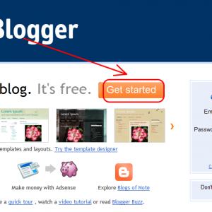 Chi tiết cách tạo blog miễn phí với Blogspot