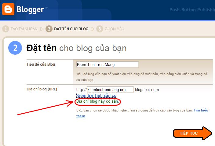 blogspot3 Chi tiết cách tạo blog miễn phí với Blogspot