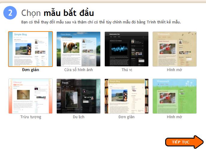 blogspot4 Chi tiết cách tạo blog miễn phí với Blogspot