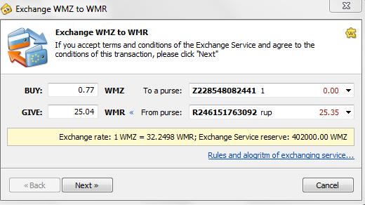 3 Cách chuyển đổi tiền tệ trong Webmoney