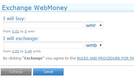 5 Cách chuyển đổi tiền tệ trong Webmoney