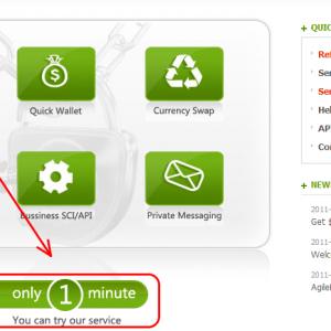 Agile Reserve thanh toán trực tuyến mới