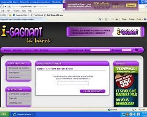 Kiếm tiền từ cashbar với i-gagnant-barre