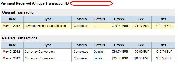 proof i gagnant barre2 Kiếm tiền từ cashbar với i gagnant barre