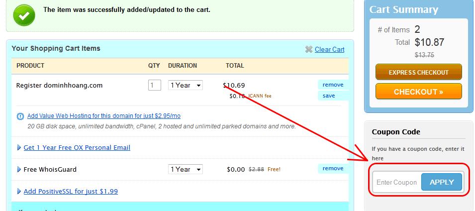 namecheap Namecheap khuyến mại tên miền chỉ với 1.99$