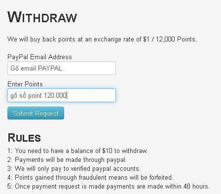 tubeexposure payout Kiếm tiền bằng cách treo máy với TubeExposure