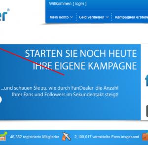 Like kiếm tiền với Fandealer.net