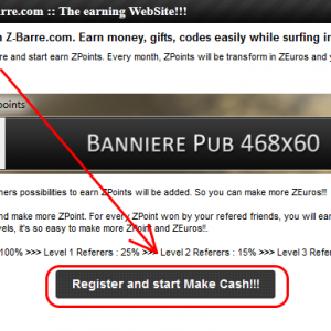 Kiếm tiền từ cashbar với z-barre.com