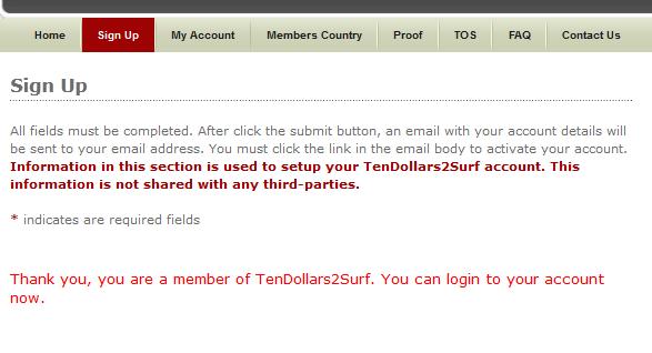 tendollars2surf hoàn thành