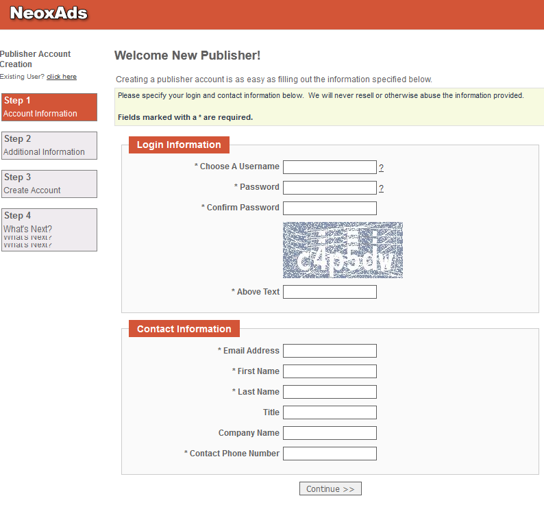 neoxads 2 NeoxAds   mạng quảng cáo mới cho webmaster