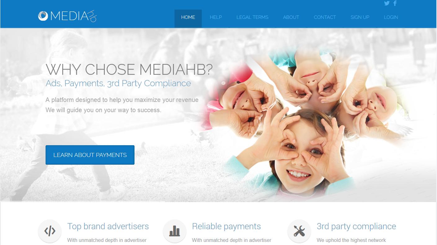 mediahb MediaHB.com   Kiếm tiền từ hình thức CPM với site tiếng Anh