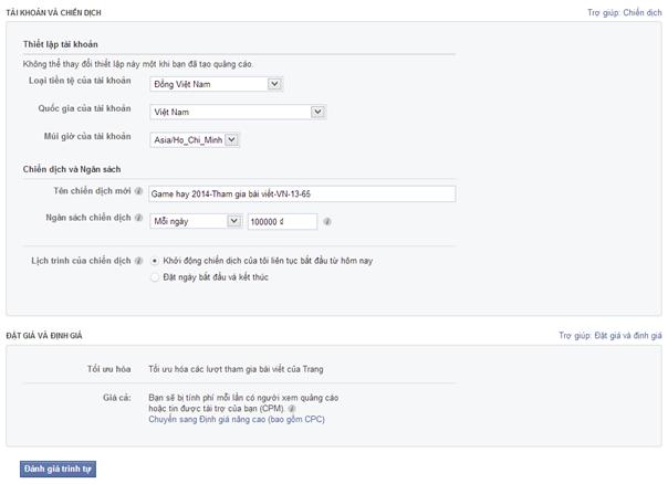 quang cao Facebook 11 Hướng dẫn tạo quảng cáo Facebook chi tiết