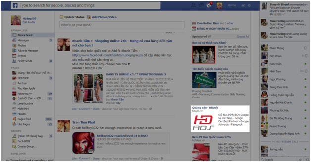 quang cao Facebook 3 Hướng dẫn tạo quảng cáo Facebook chi tiết