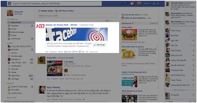 quang cao Facebook 4 Hướng dẫn tạo quảng cáo Facebook chi tiết
