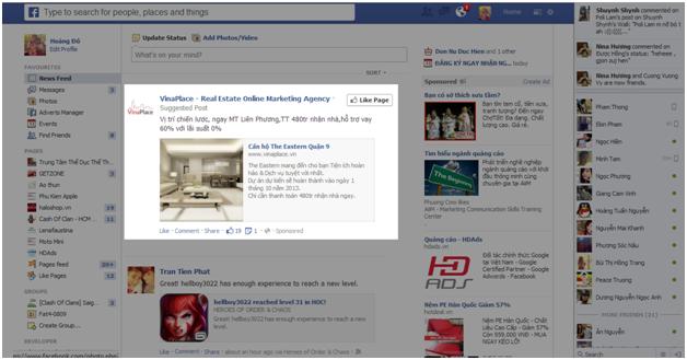 quang cao Facebook 5 Hướng dẫn tạo quảng cáo Facebook chi tiết