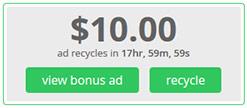 bonus ads PaidVerts.com   Kiếm tiền từ hình thức PTC mới