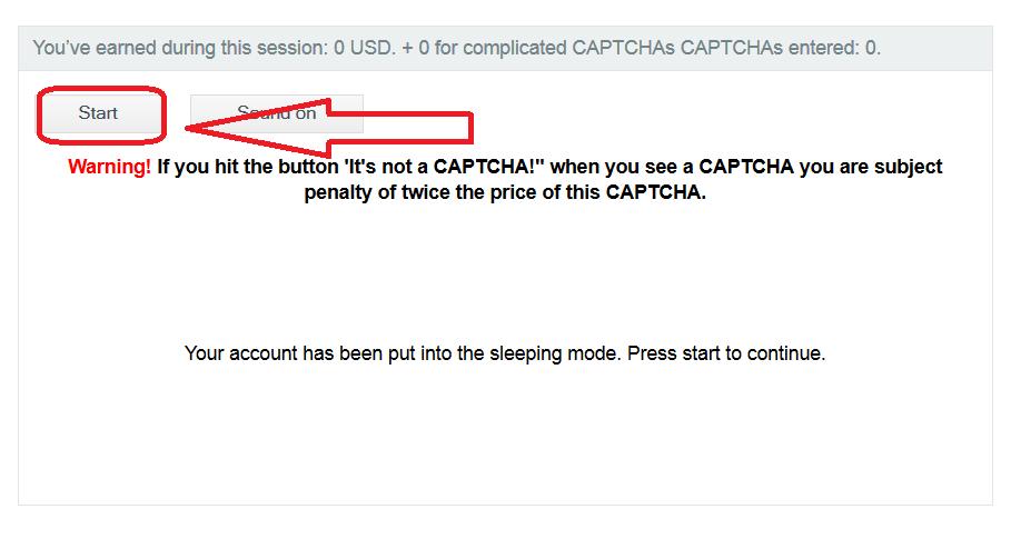 2captcha 5 Kiếm tiền từ việc gõ captcha với 2captcha.com