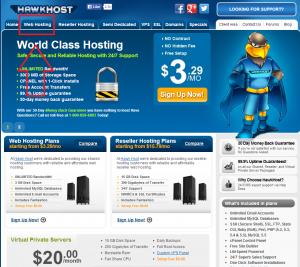 HawkHost 2 300x267 Cơ hội may mắn nhận được 3000$ từ Namecheap