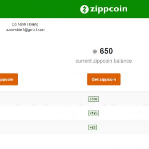 Zippcoin.com - Tiền tệ ảo mới, đăng ký nhận ngay bonus
