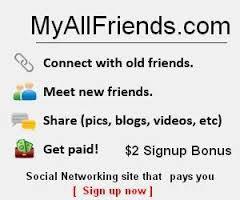 MyAllFriends.com - Kiếm tiền từ mạng xã hội mới