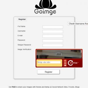 Goimge.com - Kiếm tiền từ chia sẻ ảnh, trả cao nhất 12$/1000 view
