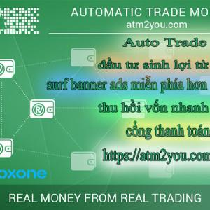 Atm2you.com - Kiếm tiền từ việc đầu tư mua bán cổ phiếu và surf quảng cáo