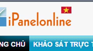 Kiếm tiền trên mạng từ chương trình khảo sát Ipanelonline của Việt Nam (cập nhật mới)