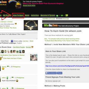 Kiếm tiền nhờ các hoạt động trên mạng xã hội Whzon.com